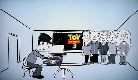 о сценариях детям. Pixar
