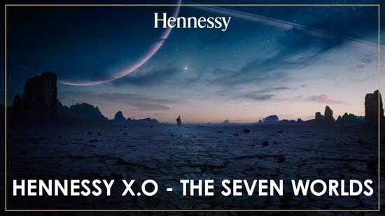 реклама Hennessy X.O - Семь миров
