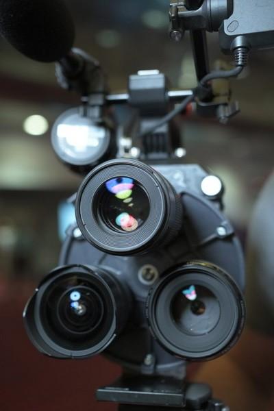 Multiturret на камере Sony