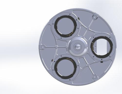 Multiturret 3д модель