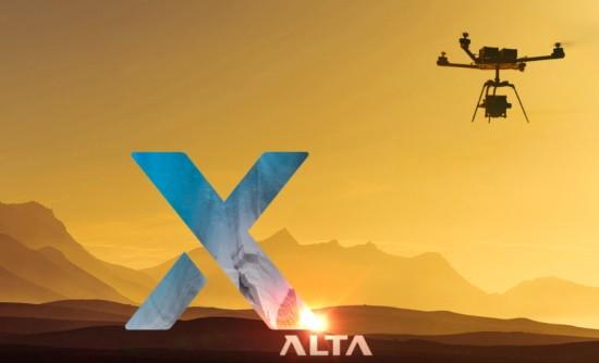 внешний вид коптер Freefly Alta X