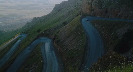 Курдистан, дорога, кино