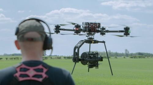 Квадрокоптеры в кинематографе