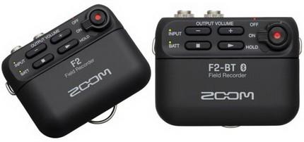 Zoom F2 и F2-BT