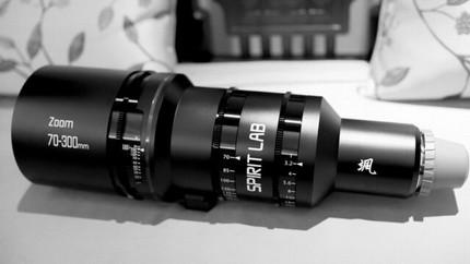 Spirit Lab Cine Zoom 70-300mm