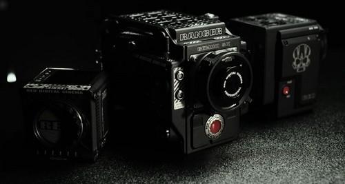Все текущие доступные варианты корпуса камеры RED. Изображение предоставлено: RED